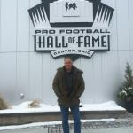 Key West Paranormal Society's Eric DeVuyst visiting with the OSPS team and touring the Pro Football Hall of Fame in Canton, Ohio.