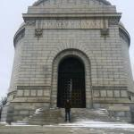 Key West Paranormal Society's Eric DeVuyst visiting with the OSPS team and touring McKinley's Monument in Canton, Ohio.
